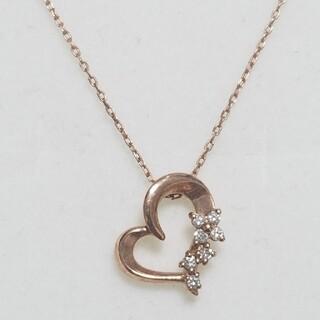 【ルジアダ】K10PG ダイヤモンドネックレス(ネックレス)