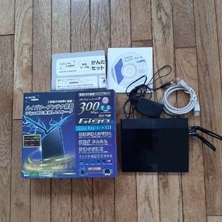 エレコム(ELECOM)の【値下げしました】ELECOM  Wi-Fiルーター(PC周辺機器)