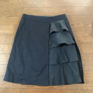 ブラーミン(BRAHMIN)のBrahminフレアレイヤースカート(ひざ丈スカート)
