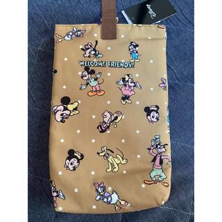 ミッキーマウス(ミッキーマウス)のミッキーフレンズ シューズ袋 バースデイ(バッグ/レッスンバッグ)
