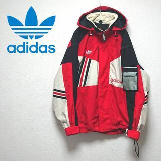 アディダス(adidas)のadidas デサント アディダス アノラック ナイロンジャケット アシメ 90(マウンテンパーカー)
