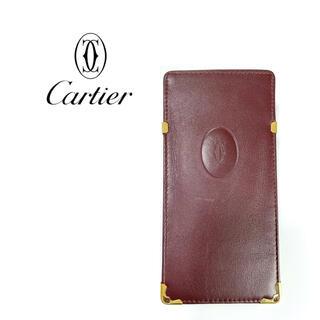 カルティエ(Cartier)のカルティエ Cartier  メガネケース 小物入れ マルチケース(サングラス/メガネ)
