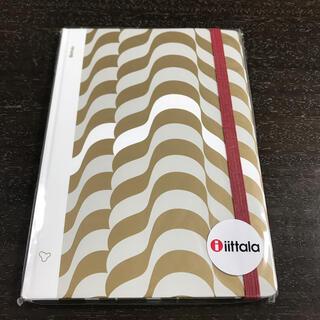 イッタラ(iittala)のꕤアアルヴァ・アアルトコレクションノート ゴールドꕤ(ノート/メモ帳/ふせん)