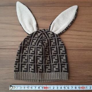 フェンディ(FENDI)のFENDI ベビー キッズ ニット帽(帽子)