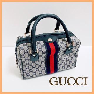 グッチ(Gucci)のGUCCI PLUS  オールドグッチ シェリーライン バッグ グッチプラス(ハンドバッグ)