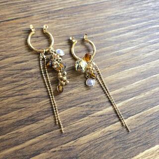 736 Apple earrings(ピアス)