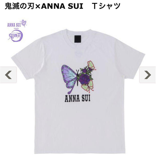 アナスイ(ANNA SUI)の鬼滅の刃 ANNA SUI Tシャツ(Tシャツ(半袖/袖なし))