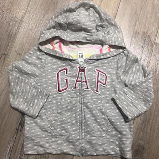 ベビーギャップ(babyGAP)のbaby gap ロゴパーカー(ジャケット/コート)