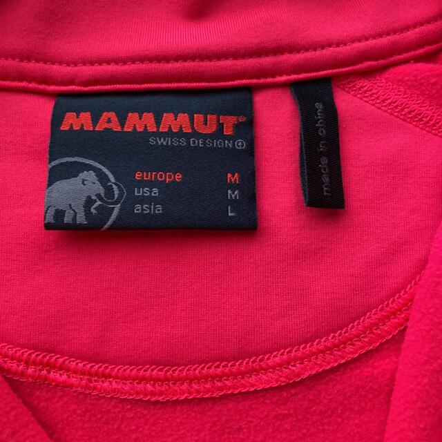 Mammut(マムート)のマムート レディース フリース アジアサイズ L スポーツ/アウトドアのアウトドア(登山用品)の商品写真
