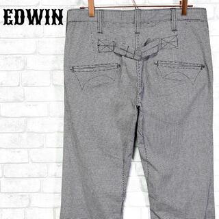 エドウィン(EDWIN)のEDWIN KHAKI エドウィン 千鳥格子 ストレッチフレアパンツ(ワークパンツ/カーゴパンツ)