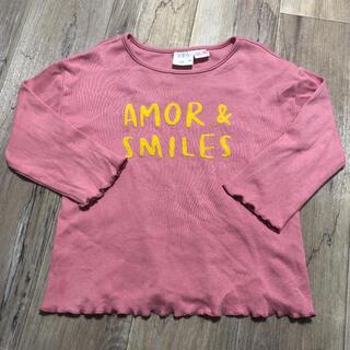 ザラキッズ(ZARA KIDS)のZARA シンプルロンT 2-3years(Tシャツ/カットソー)