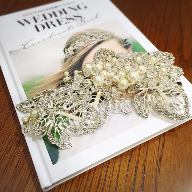 ブライダル♡ヘッドドレス♡  レディースのフォーマル/ドレス(ウェディングドレス)の商品写真