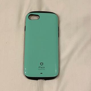 ハイミー(HIMMY)のiFace iPhone7 iPhone8 iPhoneSE (第二世代)ミント(iPhoneケース)