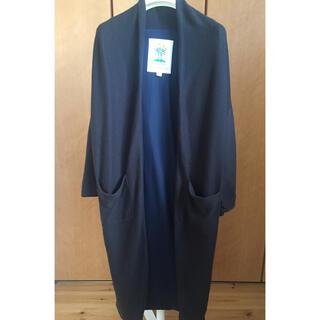 イエナ(IENA)のBED&BREAKFAST  ネイビー 春用コットン素材の羽織りコート (スプリングコート)