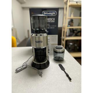 デロンギ(DeLonghi)のデロンギ KG521J-M コーヒーグラインダー(電動式コーヒーミル)