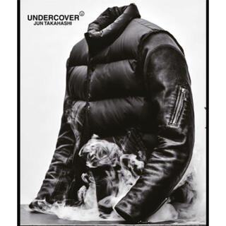 UNDERCOVER - アンダーカバー S 30th undercover 1 袖レザーダウンジャケット