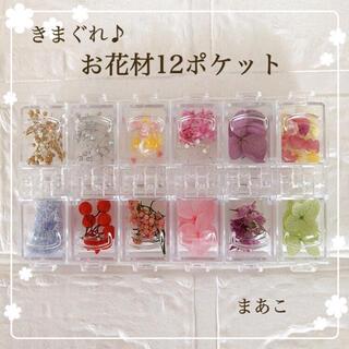 数量限定 12種類  花材 詰め合わせ ハーバリウムボールペン レジン きまぐれ(ドライフラワー)