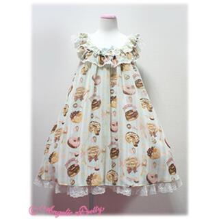 アンジェリックプリティー(Angelic Pretty)のAngelic Pretty Melty Cream ドーナツジャンパースカート(ひざ丈ワンピース)