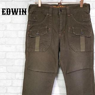 エドウィン(EDWIN)のEDWIN XV エドウィン ミリタリーブッシュカーゴパンツ 6ポケット(ワークパンツ/カーゴパンツ)