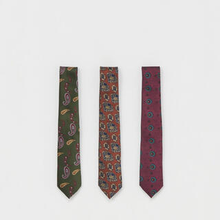 """エンダースキーマ(Hender Scheme)のHender Scheme """"necktie"""" シルク100 赤(ネクタイ)"""