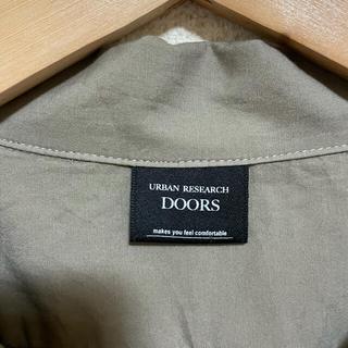 ドアーズ(DOORS / URBAN RESEARCH)のアーバンリサーチドアーズ オープンカラーショートスリーブシャツ 38(シャツ)