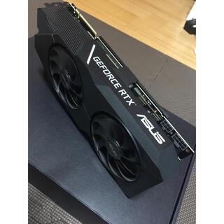 エイスース(ASUS)のasus rtx2070 super dual evo(PCパーツ)