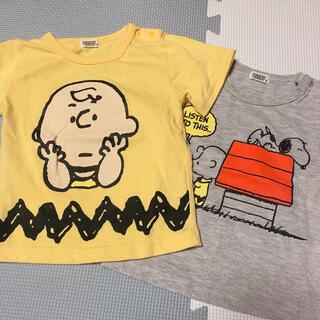 スヌーピー(SNOOPY)のスヌーピー Tシャツ 80 (Tシャツ)