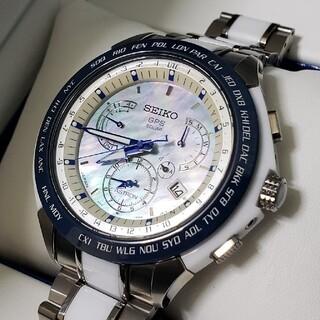 セイコー(SEIKO)のセイコー アストロン sbxb039 限定モデル 白蝶貝 美品(腕時計(アナログ))