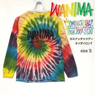 ワニマ(WANIMA)の★WANIMA★カミナッチャツアー2019-2020 タイダイロンT Sサイズ(ミュージシャン)