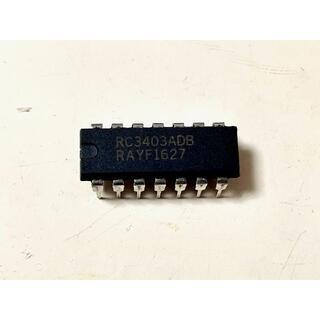 ボス(BOSS)のレイセオン RC3403ADB クワッドオペアンプ BOSS OD-1用(エフェクター)