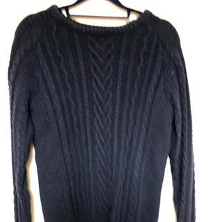 ウノピゥウノウグァーレトレ(1piu1uguale3)の1piu1uguale3 Relax knit 紺 ニット(ニット/セーター)