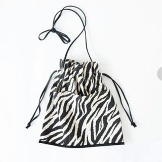 シールームリン(SeaRoomlynn)のsearoomlynn 新品ECO LEATHER-LINE巾着BAG(ショルダーバッグ)