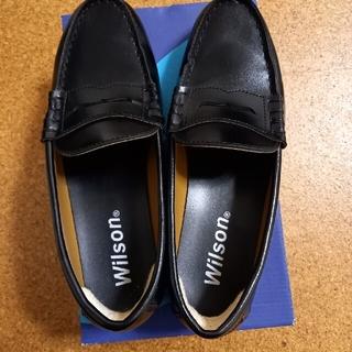 ウィルソン(wilson)のローファー(26.5cm)EEE(ドレス/ビジネス)