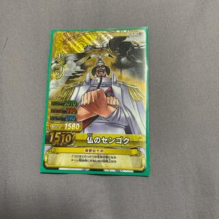 バンダイ(BANDAI)のONE PIECE カード シークレット センゴク(少年漫画)