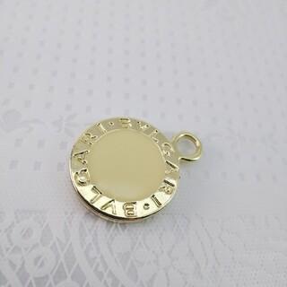 ブルガリ(BVLGARI)のブルガリ チャーム 新品未使用 ゴールド色 841427(チャーム)