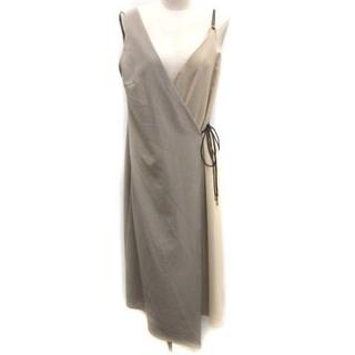 ラブレス(LOVELESS)のラブレス LOVELESS 38 M アシンメトリースタイリングドレス ワンピー(ロングワンピース/マキシワンピース)