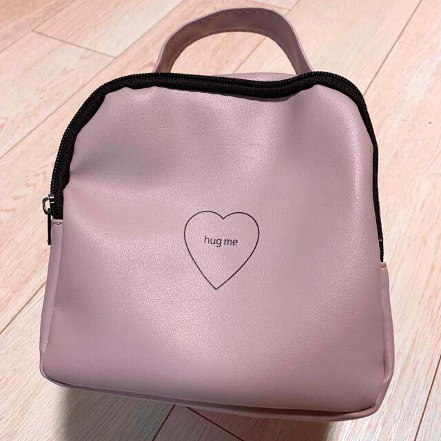 メイクポーチ バニティ くすみピンク コスメ/美容のメイク道具/ケアグッズ(メイクボックス)の商品写真