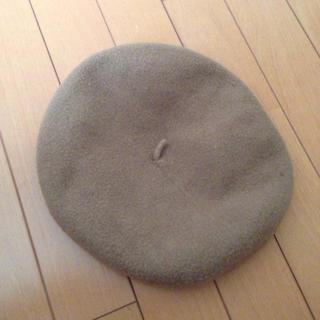 アースミュージックアンドエコロジー(earth music & ecology)のearth KANGOLコラボ ベレー帽(ハンチング/ベレー帽)