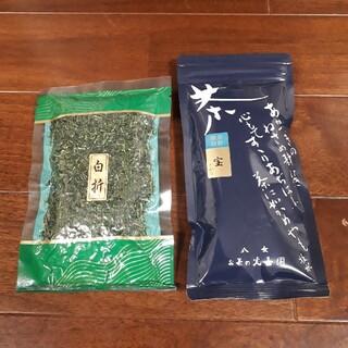 煎茶 白折 八女茶 そのぎ茶(茶)