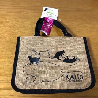 カルディ(KALDI)のカルディKALDI 猫の日バッグ【バッグ+カレンダーのみ】(トートバッグ)