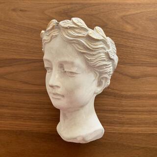 アンソロポロジー(Anthropologie)の【新品未使用】アンソロポロジー ギリシャ風 プランター 花瓶 フラワーベース S(花瓶)