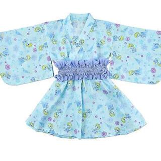 ディズニー(Disney)の【新品・未着用】ディズニー エルサ 子供浴衣 110  ドレス浴衣(甚平/浴衣)