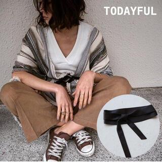 TODAYFUL - TODAYFUL レザーサッシュベルト 8250円 新品未使用タグ付き 吉田玲香