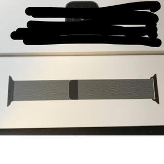アップルウォッチ(Apple Watch)のapple 純正 グラファイトミラネーゼループ 42/44mm(その他)