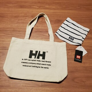 ヘリーハンセン(HELLY HANSEN)の最終値下げ!未使用品 HELLY HANSEN トートバッグ&ネックゲイター(トートバッグ)