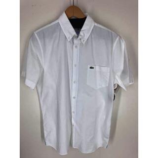 ラコステ(LACOSTE)のLACOSTE(ラコステ) 刺繍 半袖シャツ メンズ トップス カジュアルシャツ(その他)