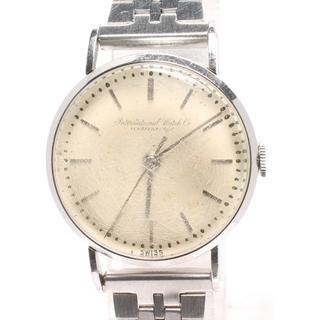 インターナショナルウォッチカンパニー(IWC)のアイダブリューシー IWC 腕時計 シャフハウゼン   レディース(腕時計)