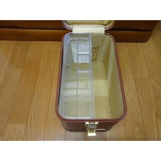 コスメトレンチメイクボックス化粧道具箱メイクアップケース(メイクボックス)
