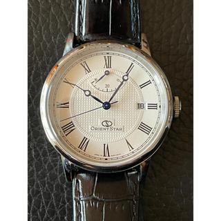 オリエント(ORIENT)のオリエントスター パワーリザーブ WZ0341EL 自動巻き 裏スケ(腕時計(アナログ))