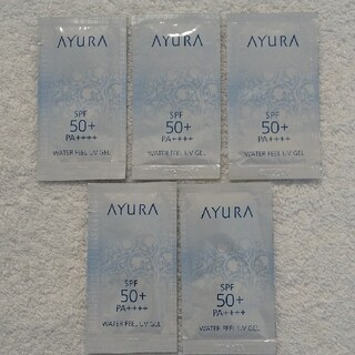アユーラ(AYURA)の ウォーターフィールUVジェル 日やけ止め(日焼け止め/サンオイル)
